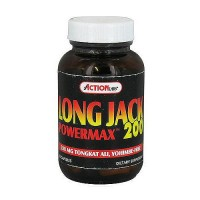 Action Labs powermax 200 mg capsules, long jack - 60 ea