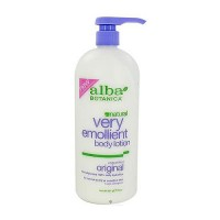 Alba Botanica very emollient body lotion original - 32 oz