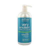 Alba Botanica very emollient bath and shower gel Midnight Tuberose - 32 oz