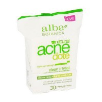 Alba Botanica Hawaiian Natural Acne Dote Clean And Treat Towelettes - 30 ea