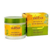 Alba Botanica Hawaiian aloe and green tea oil free skin moisturizer - 3 oz