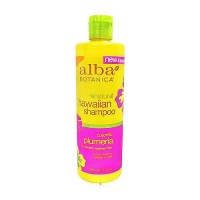 Alba Botanica plumeria replenishing hair wash - 12 oz