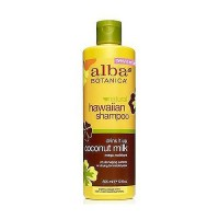 Alba Botanica Hawaiian Coconut Milk Extra Rich Hair Wash Shampoo - 12 oz