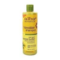 Alba Botanica Hawaiian Cocoa Butter Dry Hair Repair Wash Shampoo - 12 oz
