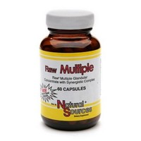 Natural sources raw multiple - 60 ea
