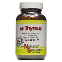 Natural sources all thymus - 60 ea