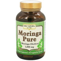 Only Natural Moringa Pure 1000 mg Vegetarian Capsules - 90 ea