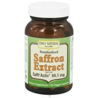 Only natural standardized saffron extract with saffr' activ 88.5 Mg - 60 vegetarian capsules