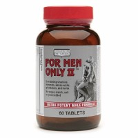 Only Natural For Men Only II Ultra Potent Male Formula Tablets - 60 ea