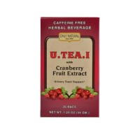 Only natural tea urinary tract support uteai with cranberry fruit extract - 20 Bags