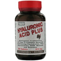 Only Natural Hyaluronic Acid Plus Tablets, 814 mg - 60 ea
