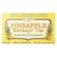 Only natural tea pineapple extract garcinia cambogia tea bags - 20 ea