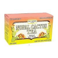 Only Natural Nopal Cactus Tea bags, Natural Mint Flavor - 20 ea
