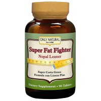 Only Natural Super Fat Fighter Tablets - 90 ea