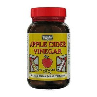 Only Natural Apple Cider Vinegar Capsules, 500 mg - 90 ea
