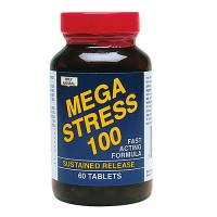 Only Natural Mega Stress, Sustained Release Formula Tablets - 30 ea