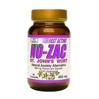 Only Natural St. Johns Wort Super No-Zac 3% Hypericin Capsules -60 ea