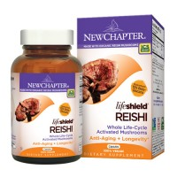 New chapter lifeshield reishi capsules  -  60 ea