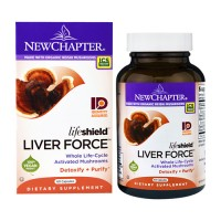 New chapter lifeshield liver force capsules  -  60 ea