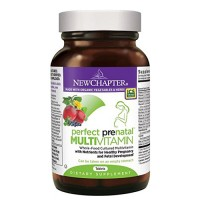 New chapter organic perfect prenatal multivitamin  -  96 Ea