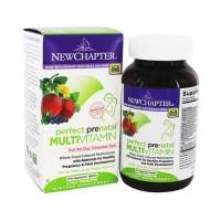 New chapter organic perfect prenatal multivitamin  -  192 Ea