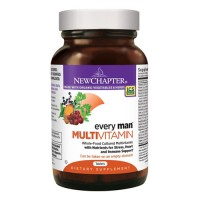 New chapter every mens multivitamin fermented with probiotics selenium  -  72 ea