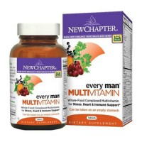 New chapter organics every man multi vitamin vegetarian  -  120 ea