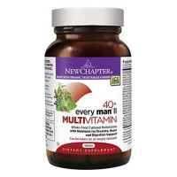 New chapter every man 40+, mens multivitamin fermented with probiotics  -  48 ea