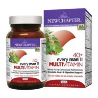 New chapter every man 40+, mens multivitamin fermented with probiotics  -  96 ea