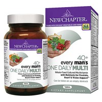 New chapter every man 40+, every mens one daily multivitamin   -  24 ea