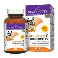 New chapter activated c food complex tablets  -  60 ea