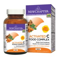 New chapter activated c food complex tablets  -  90 ea