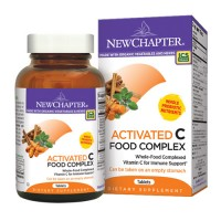 New chapter activated c food complex tablets  -  180 ea
