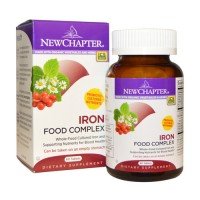 New chapter iron food complex tablets  -  60 ea