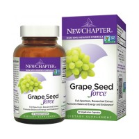 New chapter grapeseed force mineral supplement  -  30 ea