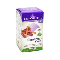 New chapter cinnamon force, liquid vegetable capsules  -  30 ea