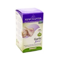 New chapter garlic force,vegetable capsules  - 30 ea