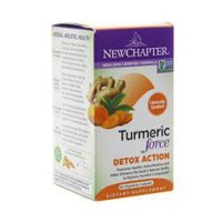 New chapter turmeric force detox action capsules  -  60 ea
