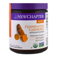 New chapter fermented turmeric booster powder  -  2.2 oz