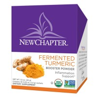 New chapter fermented turmeric booster powder  -  30 ea