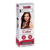 Cosamo love your color non-permanent hair color 775, Light ash brown - 3 oz