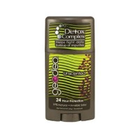 Geodeo natural deodorant plus detox complex unscented - 2.3 oz