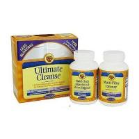 Natures Secret ultimate cleanse tablets - 2 part program - 120 +120 ea