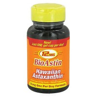 Nutrex BioAstin Hawaiian Astaxanthin 12 mg Capsules - 50 ea, Expired Date: 11/30/2015