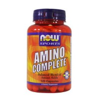 Nowfoods amino complete dietary supplements, Capsules - 120 ea