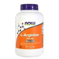 Nowfoods l-arginine 1000mg dietry supplements, Capsules - 120 ea