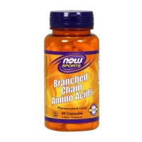 Nowfoods branched chain amino acids dietry supplements, Capsules - 60 ea