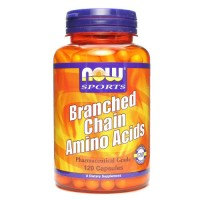 Nowfoods branched chain amino acids dietry supplements, Capsules - 120 ea