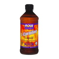 Nowfoods l-carnitine 1000mg dietry supplements, Liquid cituras flavor - 16 oz