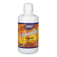Nowfoods l-carnitine 1000mg dietry supplements, Liquid citurs flavor - 16 oz